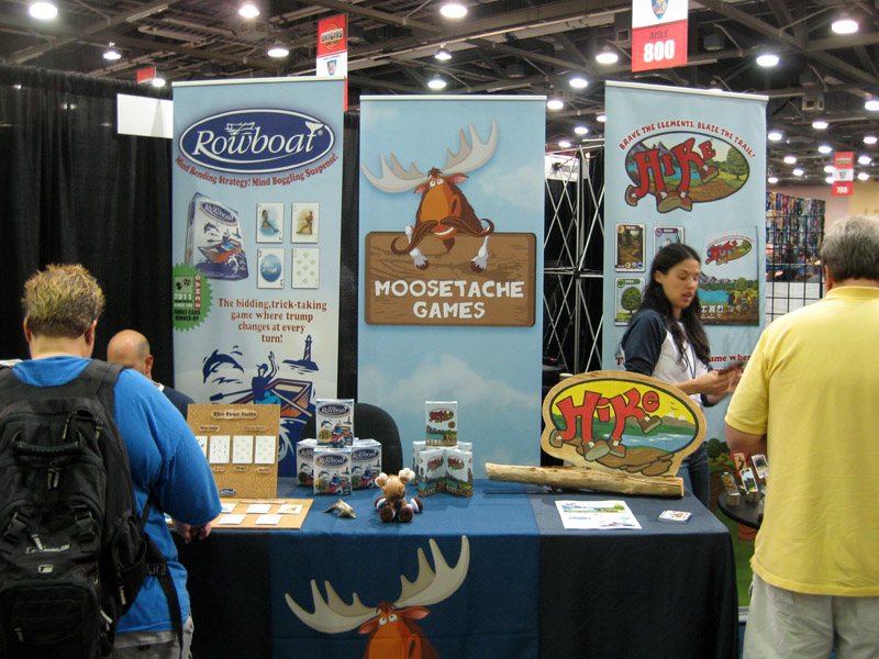 Exhibition Booth Games : Origins game fair day dice hate me