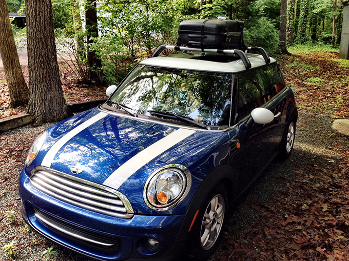This year, the Mini had to get an upgrade so we could load up all the games and goodies for the con!