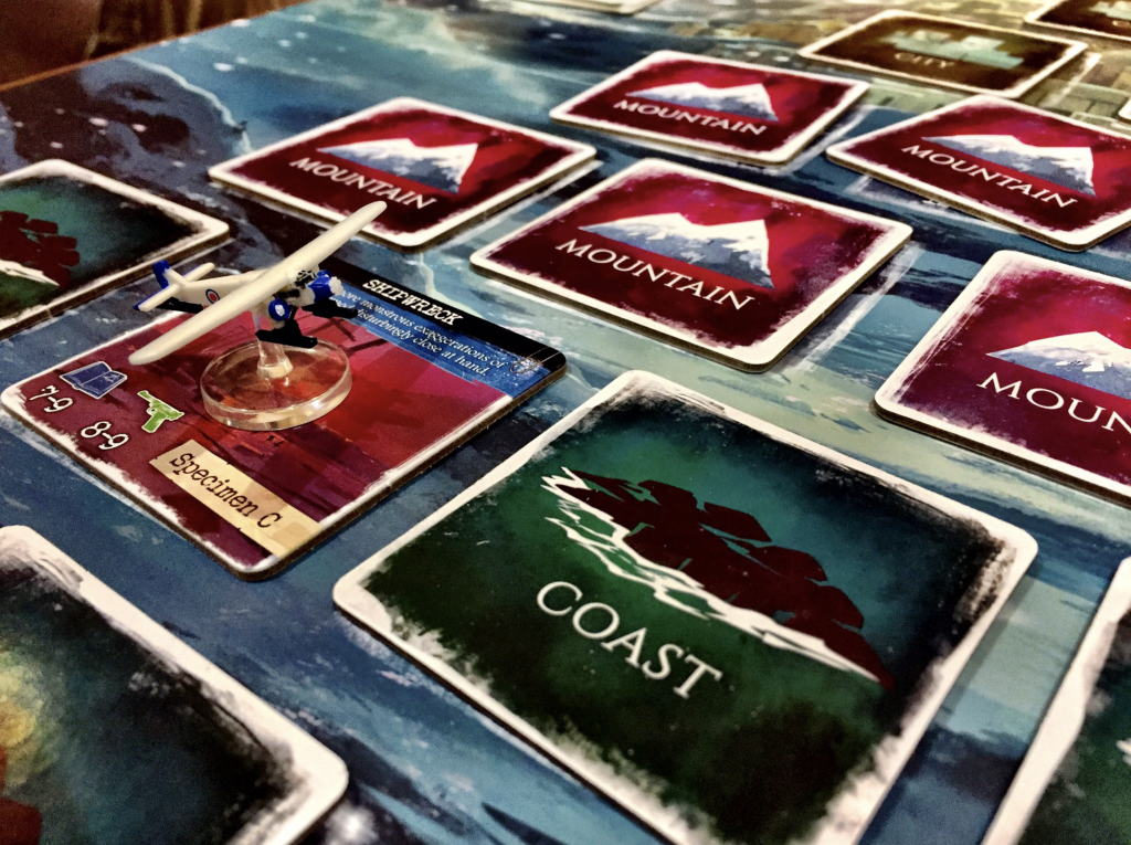 Mountains of Madness from iEllo was at the top of my list and it was a fresh surprise. I didn't know quite what to expect, so it's nice when a game can deliver something fun and unexpected.