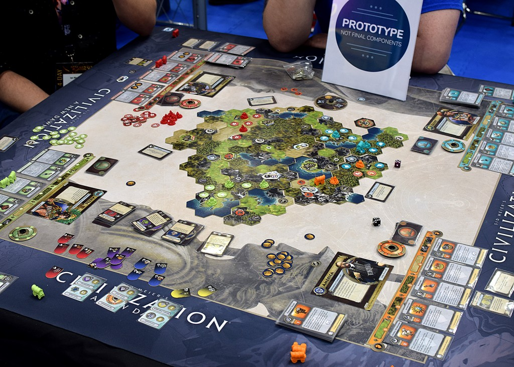 The upcoming Civilization from FFG.