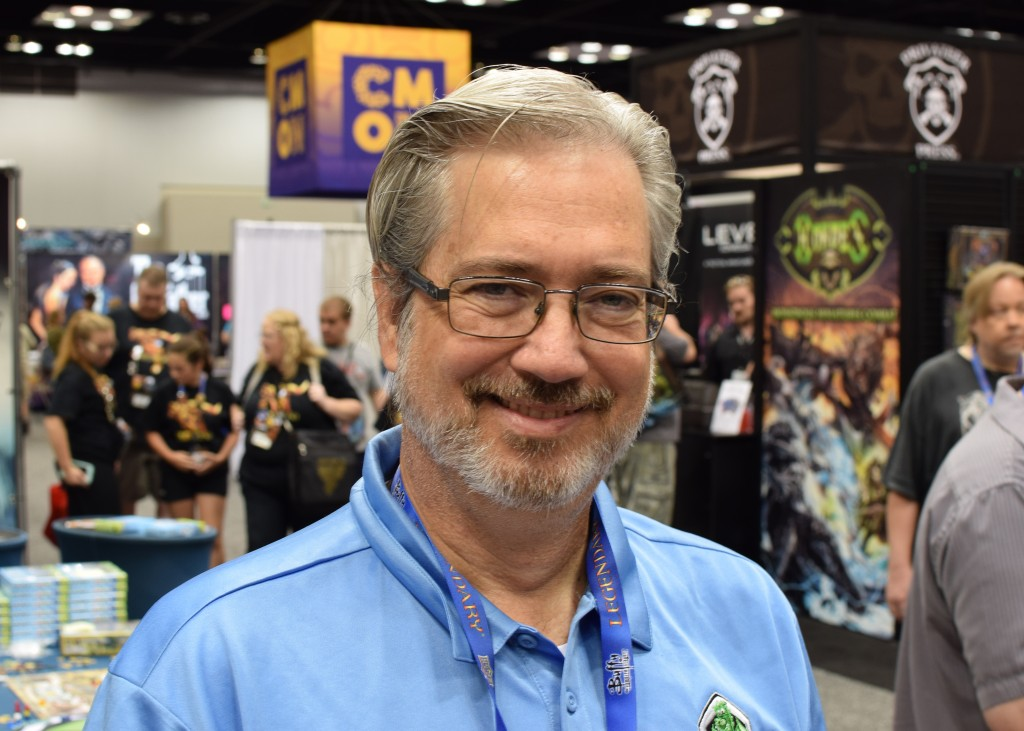 Part of my ongoing Faces of Boardgaming series - Rick Schrand of Tasty Minstrel Games.