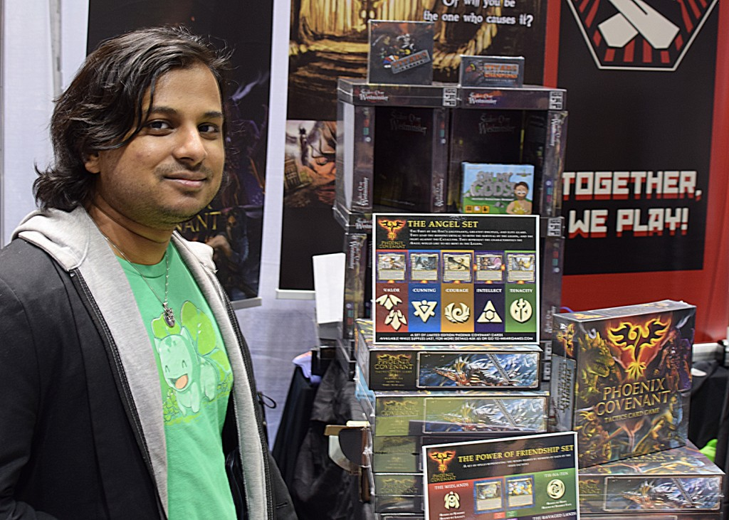 Sriraman Subbaraman, one of the co-designers of the awesome Phoenix Covenant.