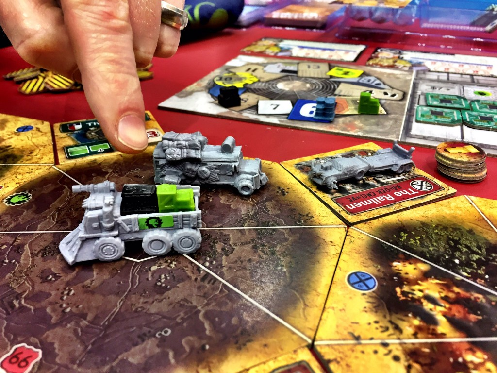 This is from my play of Wasteland Express Delivery Service with Lillian and Daniel Newman. I lost miserably, but I still had so much fun.