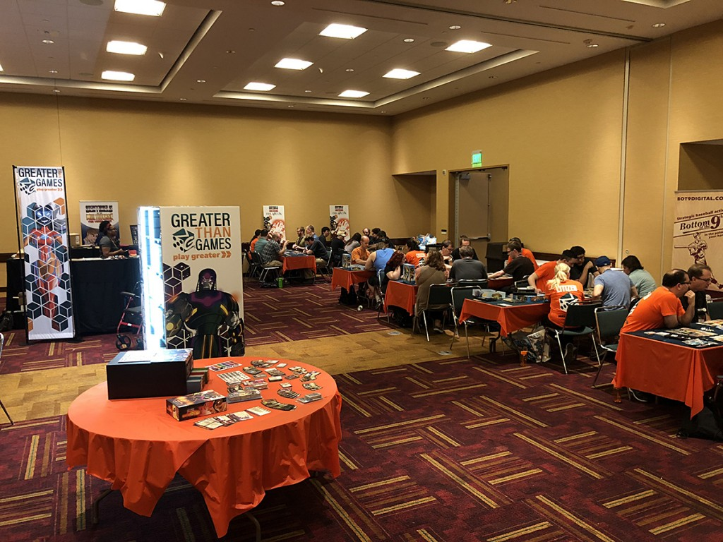 The GTG demo room was even bigger at this year's show!