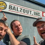 Our annual pilgrimmage to Nitro, West Virginia was nixed this year on the way up because they removed the Balzout World HQ sign. But then we found out there's a remnant on the other side of the building. So we made Nitro a stop on our trip once again!