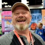 The always-joyous Bill Bricker in the Stronghold Games booth.