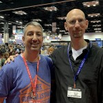 Dan Patriss with Stefan Feld!