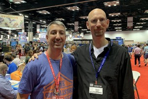 Dan Patriss with Stefan Feld!