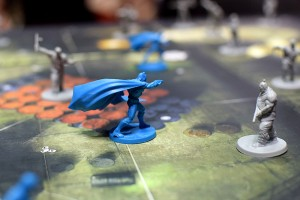 Batman: Gotham City Chronicles looked pretty sweet on the table.