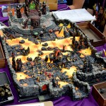 Hellscape in the Dwarven Forge booth. Simply stunning.