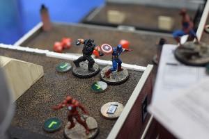 Crossbones versus Cap!