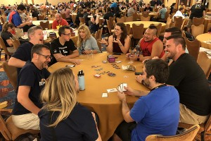 Medium was the hit of Gen Con. Everywhere I went tables of gamers were playing it and having a blast. We sold out of it by late Friday morning. I only wish we'd had more.