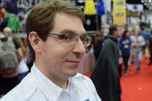 Greater Than Games CEO Paul Bender looking like he's up to no good.