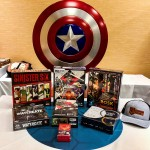 A few of the things I picked up on Thursday morning. I didn't intend to buy a fully-functional Captain America shield, but I'm so glad that I did.
