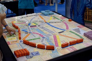 Giant Ticket to Ride: London.