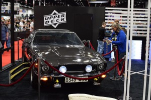 Upper Deck's big release this Gen Con was 007 Legendary. So they put a legendary car in their booth, naturally.